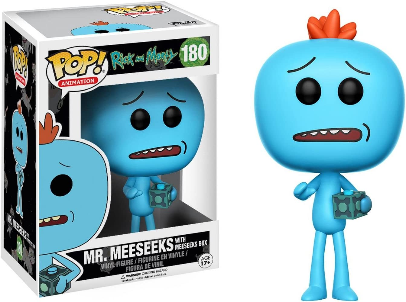 Figura Pop Rick & Morty Mr Meeseeks: Amazon.es: Juguetes y juegos