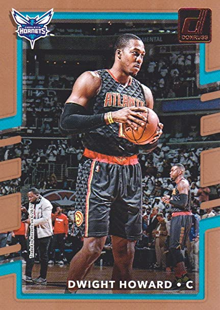 3e1ee53f9d7 Image Unavailable. Image not available for. Color  2017-18 Donruss  Basketball  19 Dwight Howard Charlotte Hornets