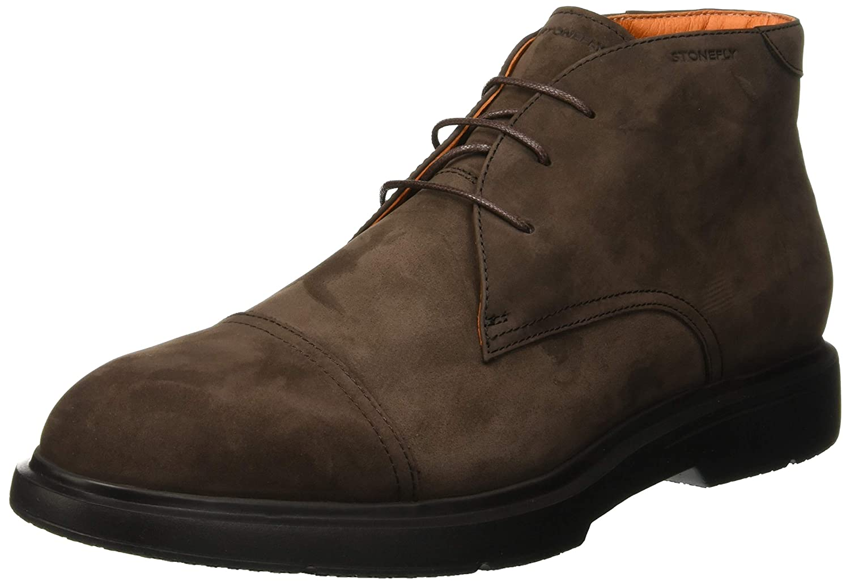 TALLA 41 EU. Stonefly Truman 2 Nubuk, Zapatos de Cordones Derby para Hombre