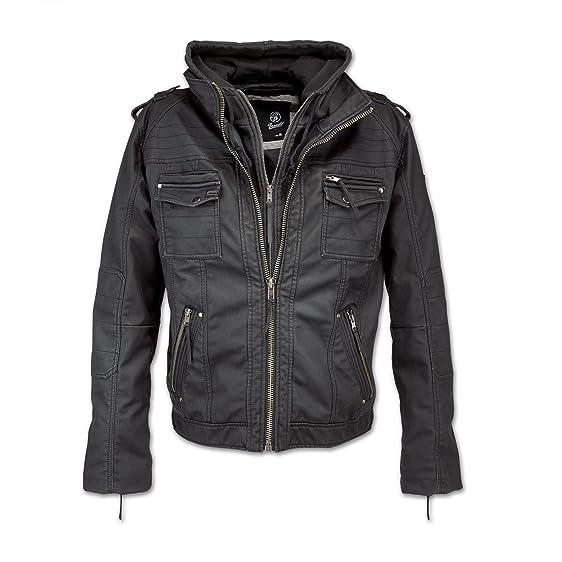 Brandit Black Rock Jacket Black: Amazon.co.uk: Clothing