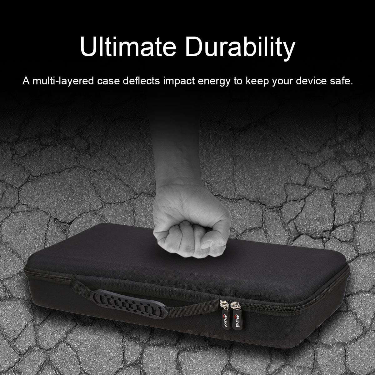 Mchoi Hard Portable Case Fits for Canon PIXMA iP110 Mobile Printer by Mchoi (Image #4)