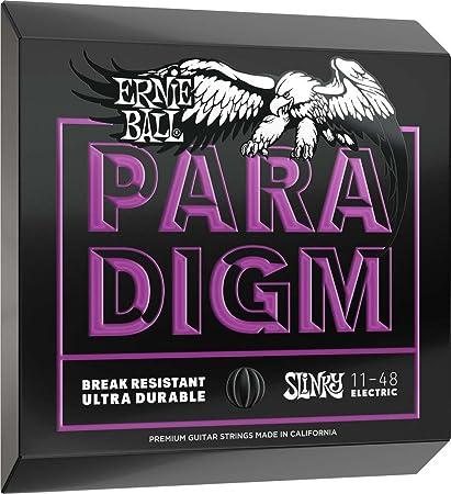 Cuerdas de guitarra eléctrica Ernie Ball Power Slinky Paradigm - 11-48 Calibre