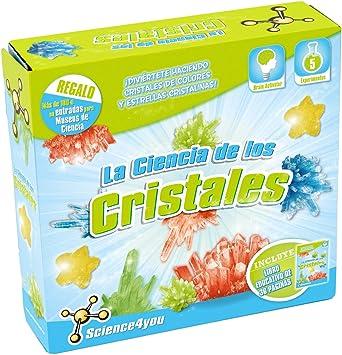 Science4you-489810 La Ciencia de los Cristales, Juguete científico y Educativo para niños +8 Años, Multicolor, Critales (489810): Amazon.es: Juguetes y juegos