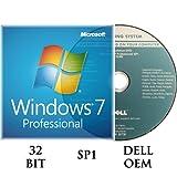 Windows 7 Professiomal 32 bit OEM incl.SP1 DVD + Activation key DELL branded