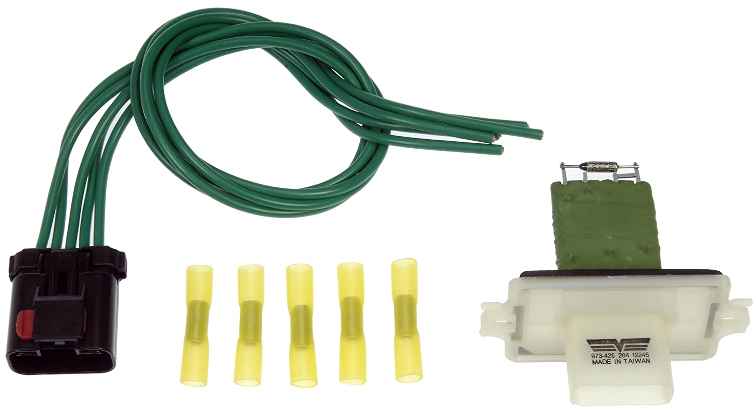 71d6VCcmzNL._SL1500_ amazon com dorman 973 426 blower motor resistor kit automotive 2004 dodge dakota blower motor resistor wiring harness at crackthecode.co