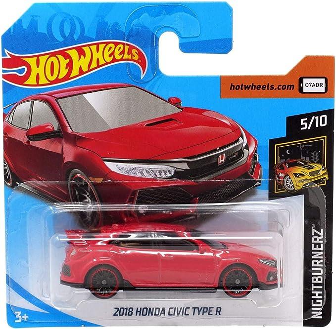 Hot Wheels Honda Crx Red Short Card