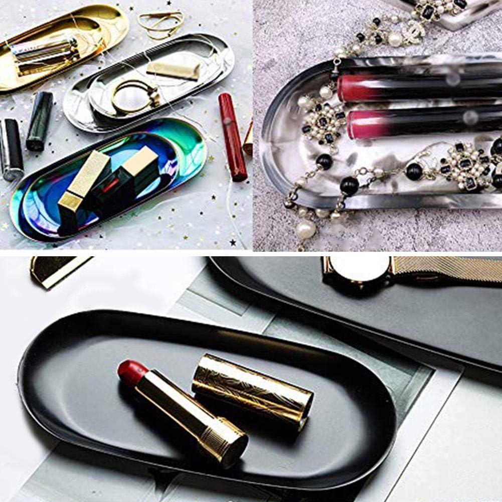 Ovale Artisanat Bijoux Outils De Fabrication Moule /Époxy Moule en R/ésine Silicone Moule Bijoux Plaque Plat Moulage Cracklight DIY Cendrier Moule en R/ésine