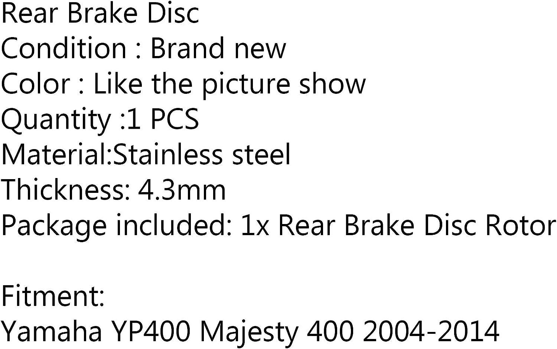 Areyourshop Bremsscheibe f/ür Hinterrad f/ür Yamaha YP400 Majesty 400 2004-2014 2006 2012