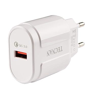 Tecnan Quick Charge 3.0 USB cargador adaptador de ...