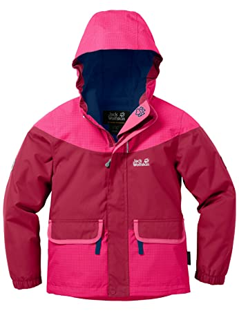 Jack Wolfskin Mädchen Glacier Bay Jacket Girls Jacke Wattiert