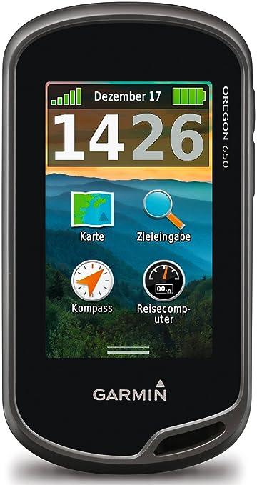 "18 opinioni per Garmin Oregon 650 GPS Portatile, Schermo 3"" Touch, Camera 8 Megapixel, Altimetro"
