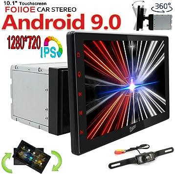 FOIIOE - Sistema de navegación GPS Universal para Coche 10,1 Pulgadas 2GB Android 10.0 Bluetooth Unidad de Cabeza estéreo para Auto con 2 DIN Radio de ...