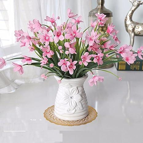 WRXXHZHR Fiori artificiali Piante in vaso Set Decorazione Soggiorno ...