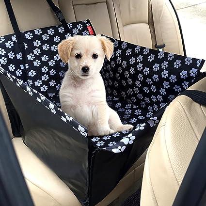 Hunde Autositz Einzelnsitz Für Rückbank MATCC Wasserdicht Hund Autositzbezug Autositz Für Haustier Abriebfest Hund Sitzbezug