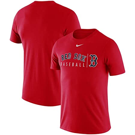 60c7df292de Amazon.com   League Tees Boston Practice T-Shirt - Red   Sports   Outdoors