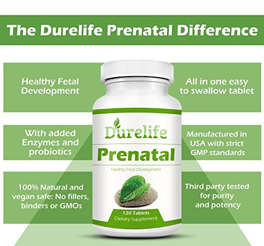 Amazon.com: Prenatal Multivitamínico One a Day 120 unidades ...