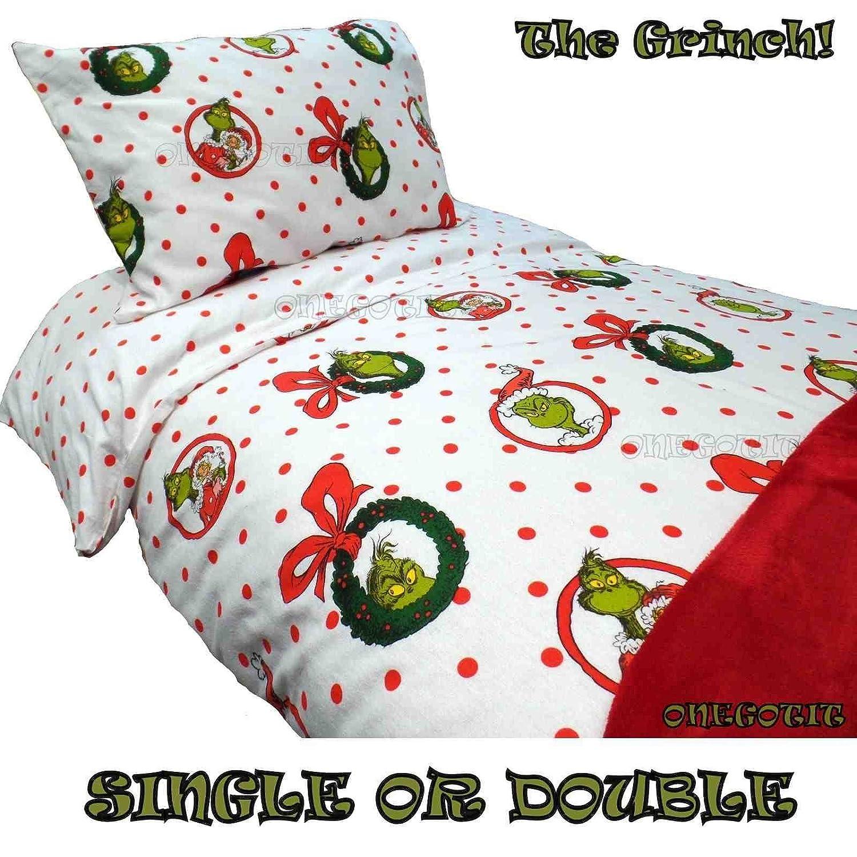 El Grinch y Cindy-Lou cama doble funda de edredón de Primark ...