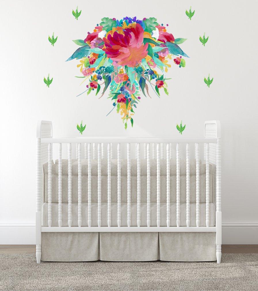 Amazoncom Baby Girl Nursery Wall Decals Baby Girl Room Nursery