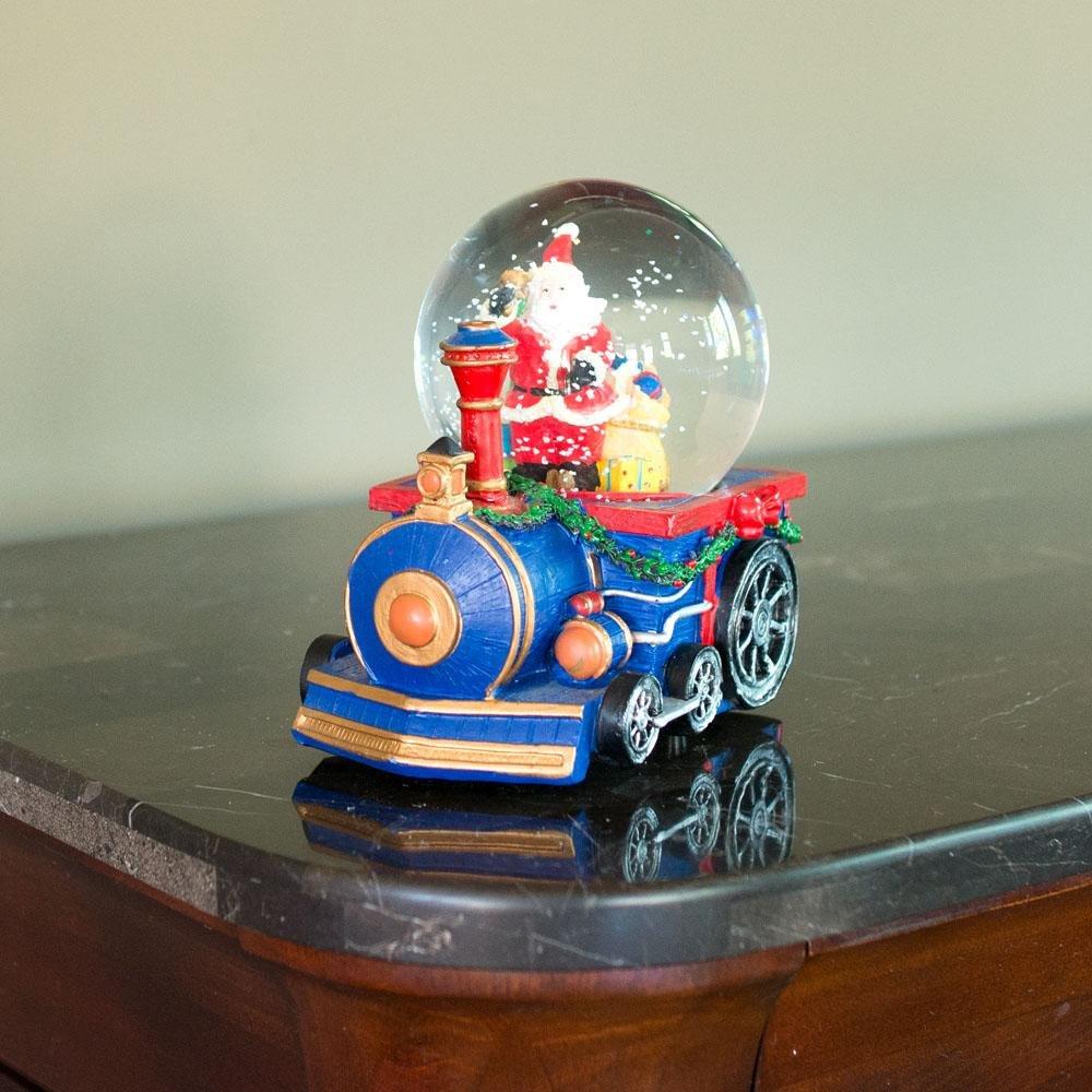 BestPysanky Santa Delivering by Train Musical Snow Globe B015MA89K0 B015MA89K0 B015MA89K0 Schneekugeln 7b0525