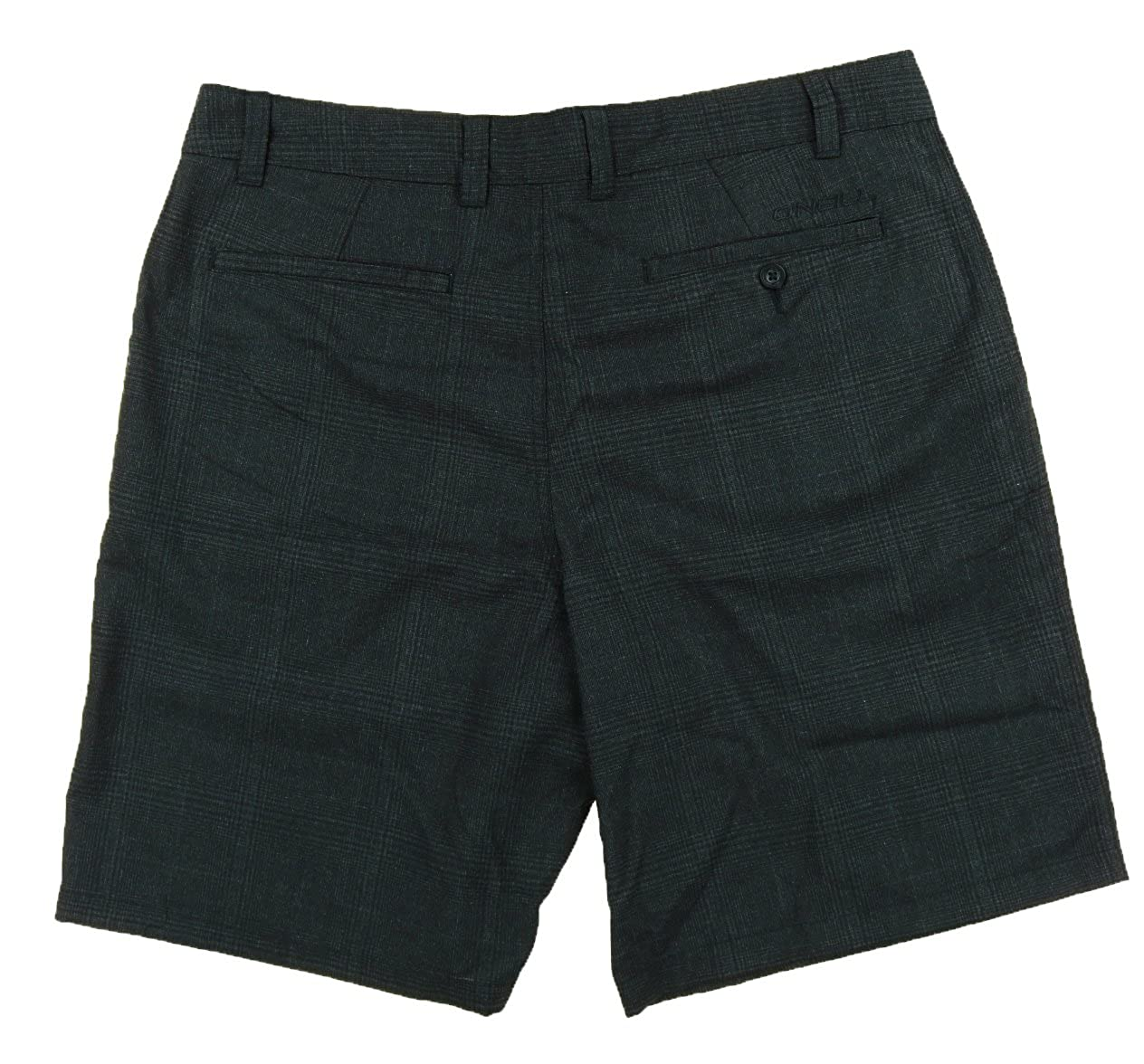 O'Neill Mens Plaid Shorts (36, Black Plaid (flynn))
