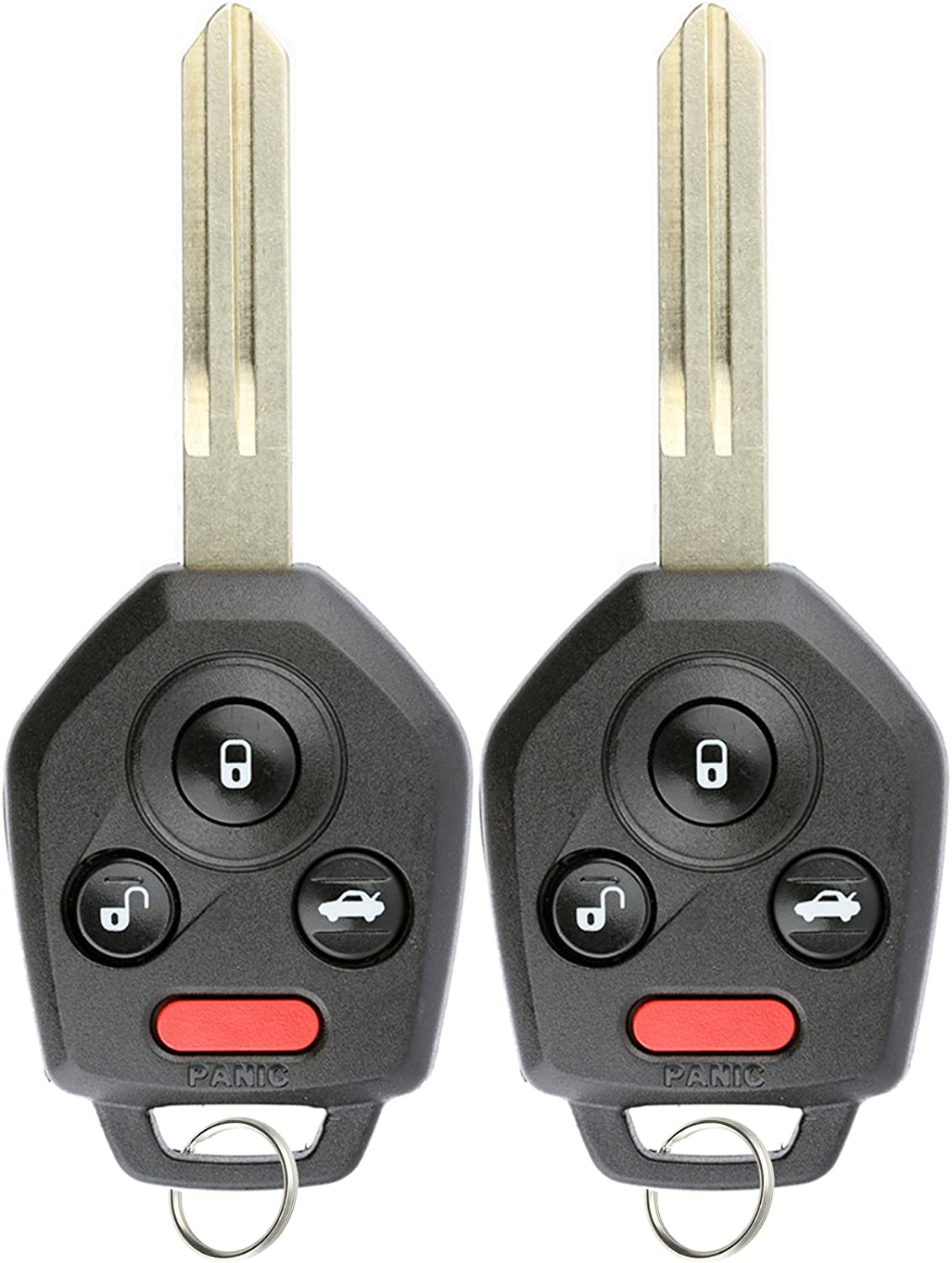 2x Car Transmitter Remote Key for 2012 2013 2014 2015 2016 2017 Subaru Forester
