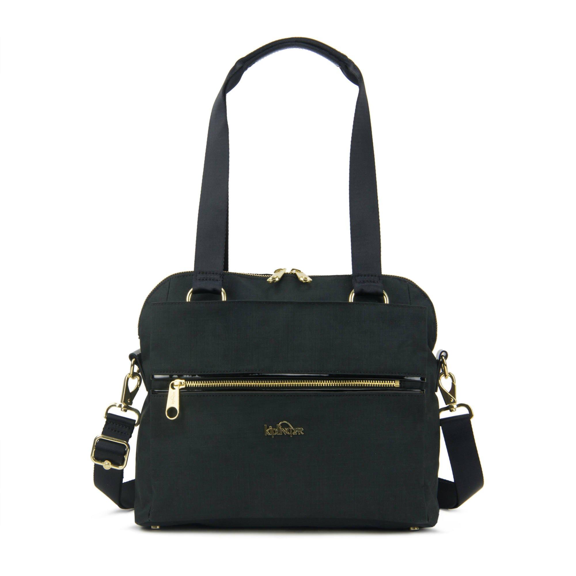 Kipling Women's Catelyn Handbag One Size Black Crosshatch