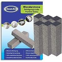 CleanAid Wonderstone - Puimstenen toiletreiniger - Schoonmaaksteen, kalksteenverwijderaar voor badkamer, toilet, douche…
