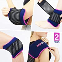 Luxury Ice Pack (for Sports Injuries and Pain Relief) Reusable as a Heat or Cold...