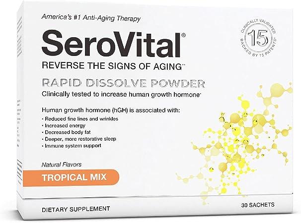 SeroVital Rapid Dissolve Powder - Tropical Mix