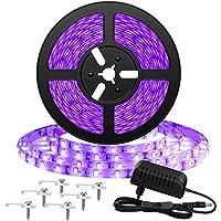 Onforu 5M Luz UV Tiras Cadenas LED Ultravioleta