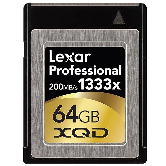 Lexar LXQD64GCRBEU1333 - Memoria Compact Flash de 64 GB, negro