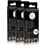 Krups XS3000 - Pastillas de limpieza, 3 unidades