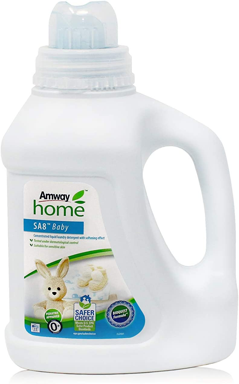 Detergente Líquido Concentrado para la Ropa AMWAY HOME SA8 Baby ...