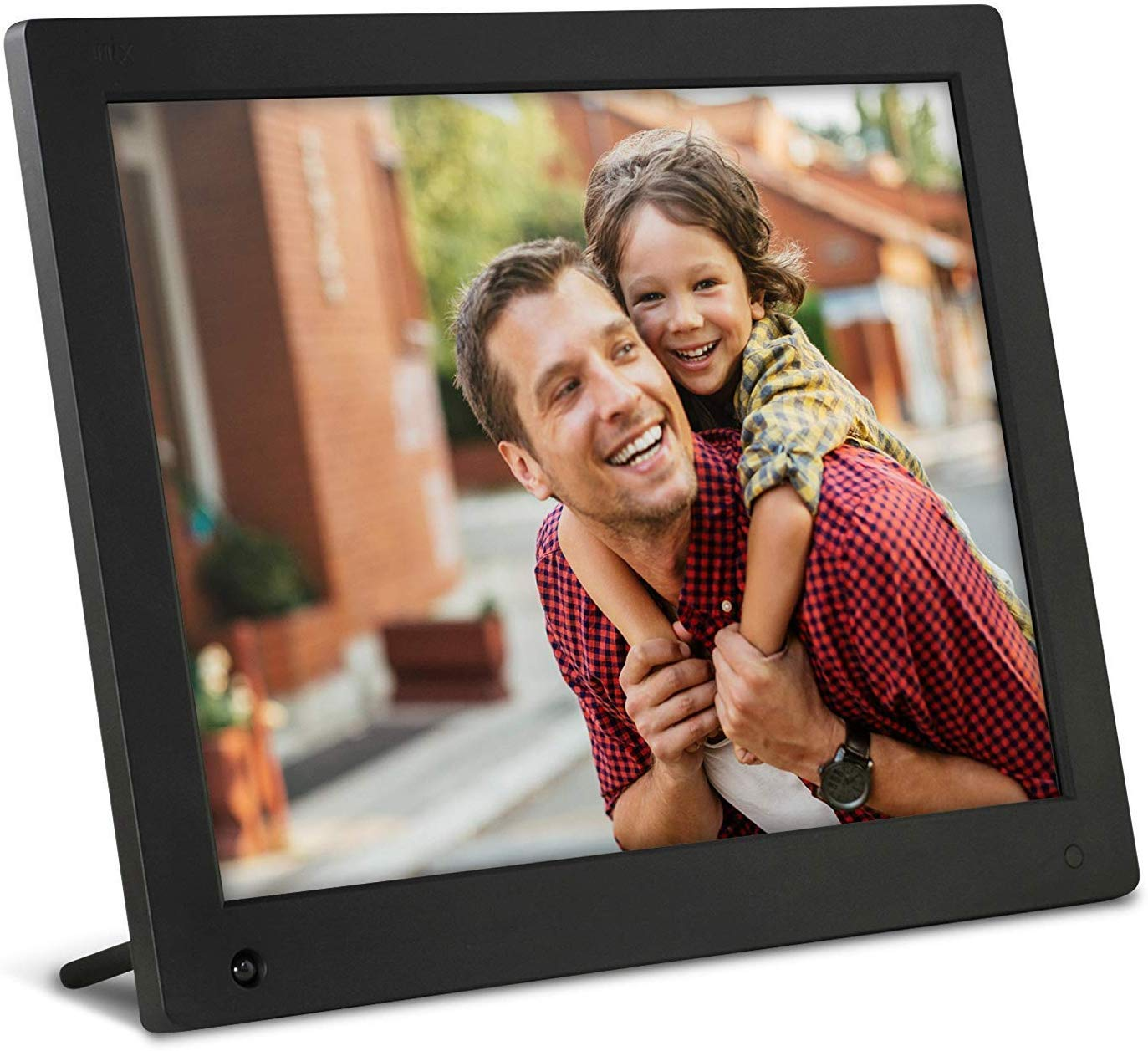 NIX Advance 15-Inch Digital Photo Frame - HD Digital Photo & Video Frame with Motion Sensor, Auto Rotate, Slideshow, Calendar View & USB/SD Card Slot by NIX