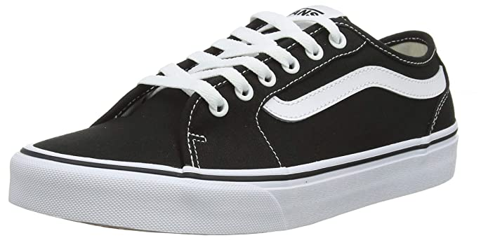 Vans Herren Filmore Decon Sneaker Canvas Schwarz Black/White 187