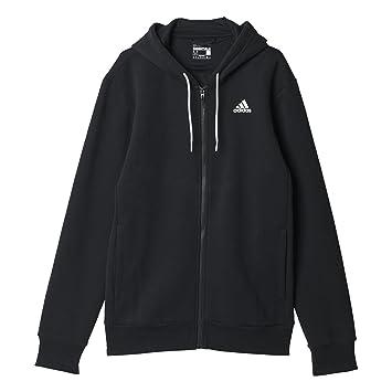 adidas Lin FZ Hood B - Sudadera para Hombre, Color Negro/Blanco, Talla XL: Amazon.es: Zapatos y complementos