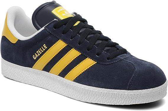 Adidas Gazelle II Blue Yellow Mens Trainers Size 8.5 UK : Amazon ...