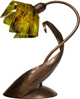 product image for Jezebel Signature TLLD-BBH-FP12-TRE Flame Style Brown with Brown Highlights Lazy Daisy Lamp, Treebark