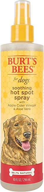 Burt's Bees for Dogs Hot Spot Shampoos and Sprays Soothing Hot