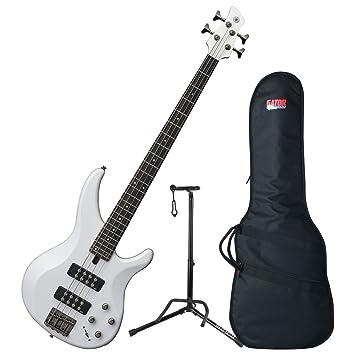 Yamaha TRBX304 WH trbx-304 weiß 4 Saiten Bass Gitarre w/Gigbag ...