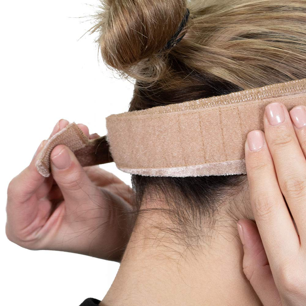 2-PACK Milano Collection ORIGINAL WiGrip Wig Comfort Band (Tan) Plus Free Teasing Comb by MILANO COLLECTION (Image #8)