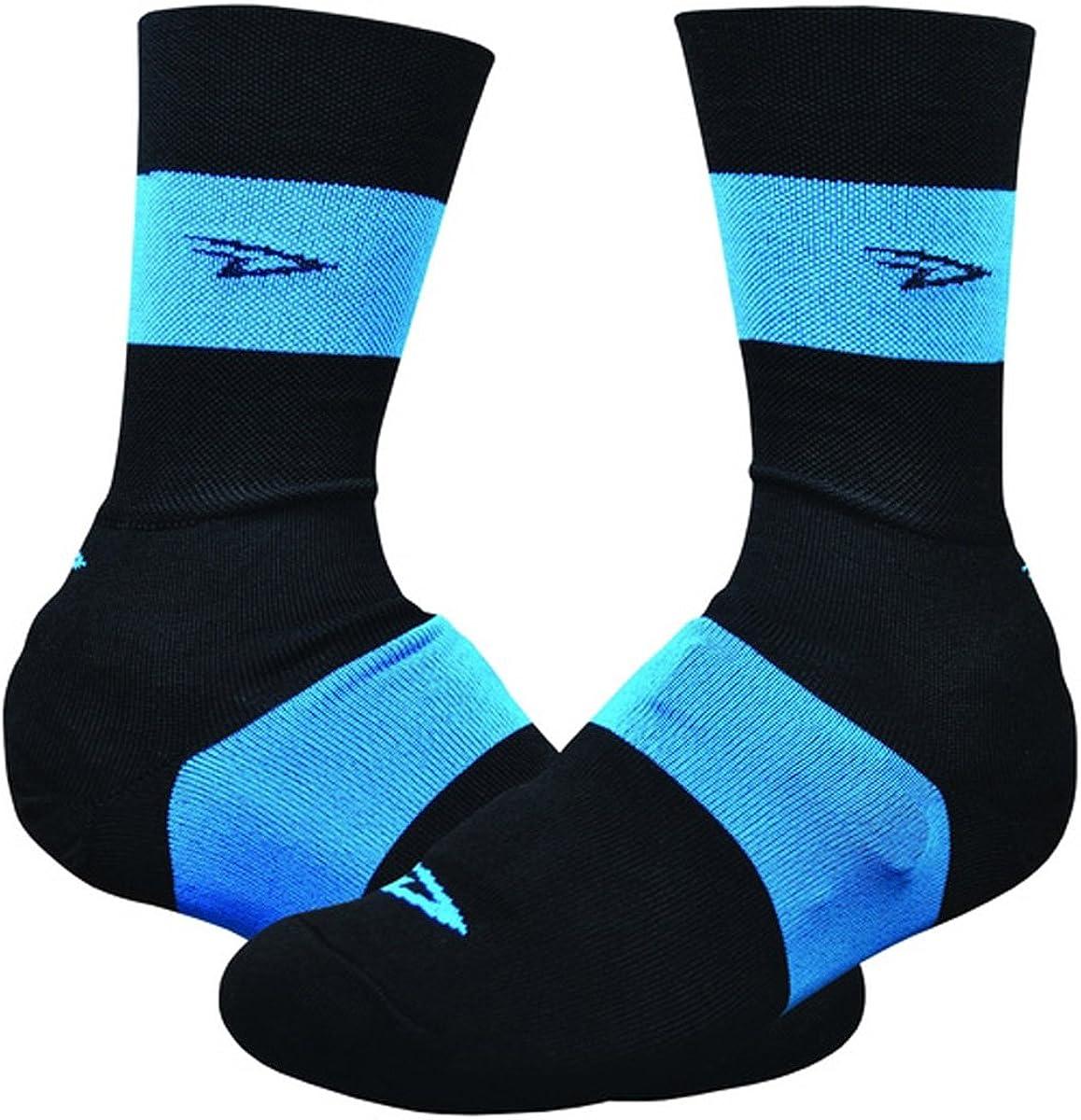 Couvre Chaussures Slisptream Bleu et Noir 6 Pouces Defeet