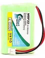 Motorola MBP36 Battery - Replacement for Motorola MBP33, MBP36 Baby Monitor Battery (700mAh, 3.6V, NI-MH)