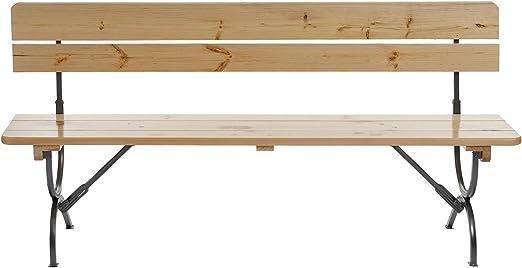 Serie Linz ideale per le feste in giardino terrazza legno chiaro laccato 180cm