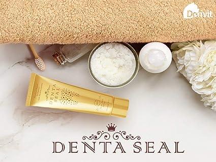 Denta Seal – Pasta dental blanqueadora - tratamiento de blanqueamiento dental - protege y llena el