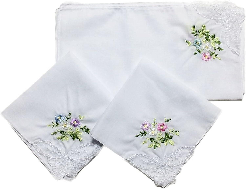 Encaje de Lacs de algodón blanco bordado pañuelos de encaje mujer ...
