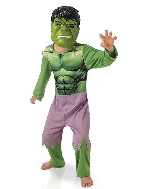 Rubies Marvel I-35172 Disfraz de Hulk Avengers, diseño clásico ...