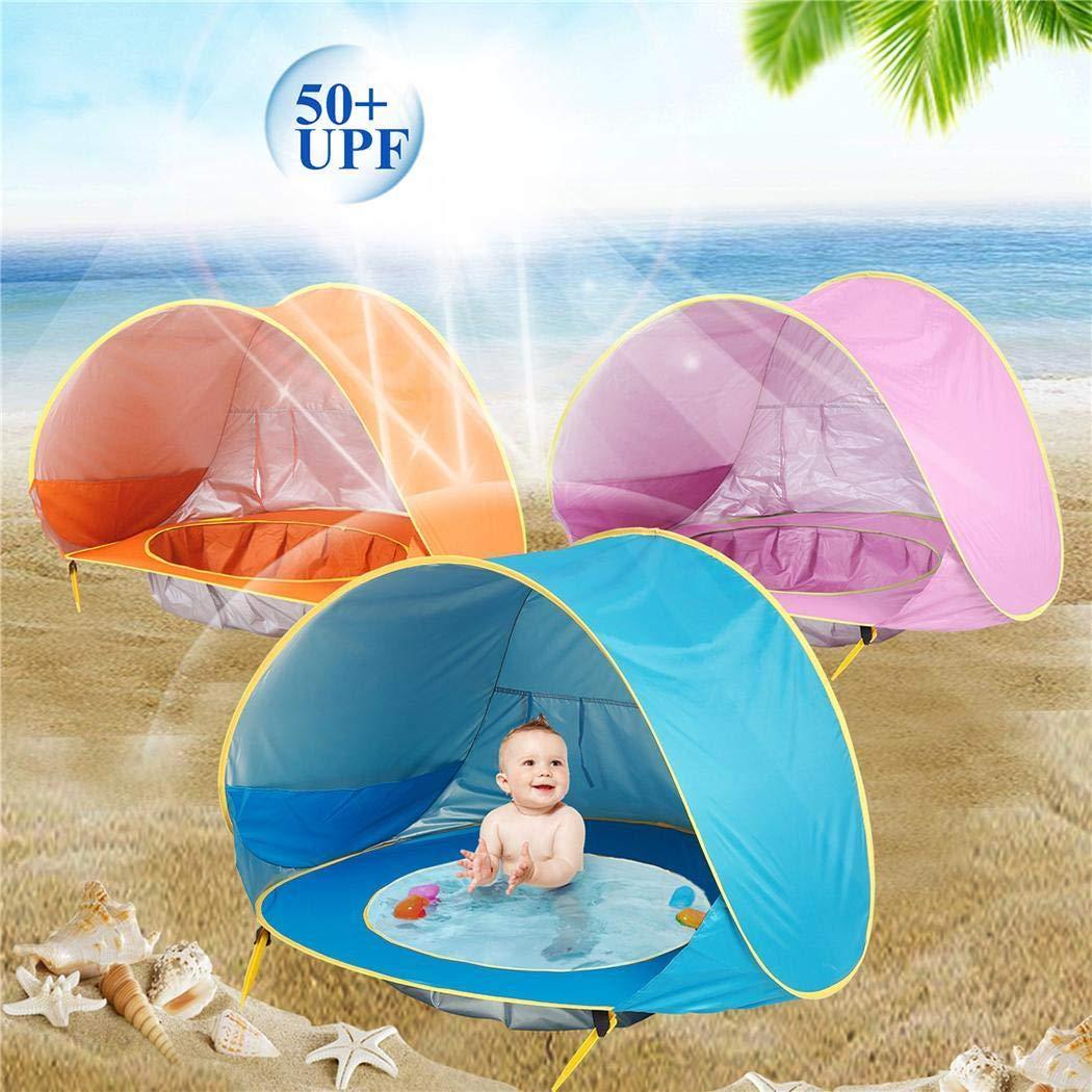 Tiendas impermeables con piscina para bebés (4 colores) por 29,19€ usando el #código: I3J23LTN