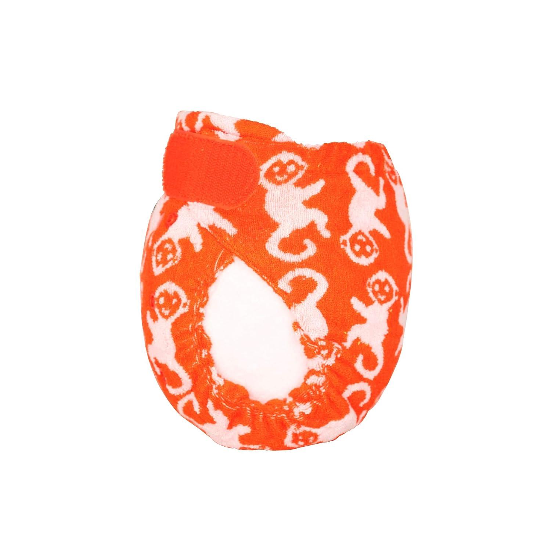 TotsBots Bamboozle Wiederverwendbare Nachtwindel Gr/ö/ße 1 Orange ChimPANTzee