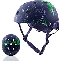 Exclusky Kids Bike Helmet 3-8 Years Toddler Helmets, Multi-Sports Cycling Skateboard Scooter Helmet for Boys Girls